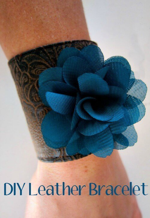 DIY Your Own Leather Bracelets for every outfit or as an awesome gift!