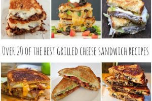 20 Best Grilled Cheese Sandwich Recipes