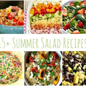 Great summer salad recipes with some of your standard favorites to quinoa salads, fruit salads and more!