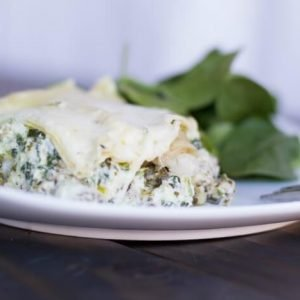 Chicken and Artichoke Slow Cooker Lasagna