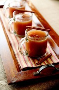 Over 40 fall drink recipes including cocoas, ciders and cocktails