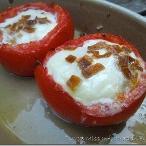 Tomato Egg Cups, Breakfast Ideas, eggs and tomatoes. Paleo_thumb