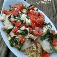 Greek Roasted Tilapia