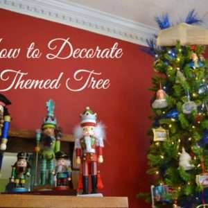 Decorate a Themed Christmas Tree {A Wonderful Week of Christmas Blog Tour}