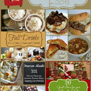 Best Blog Post's from 2013 On Miss Information's Blog lots of yummy recipes!