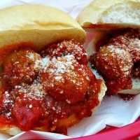 Slowcooker Meatball Sub Sliders