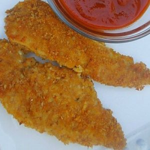 Oven Baked Chicken Fingers