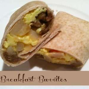 Breakfast Burritos for Mornings on the Run