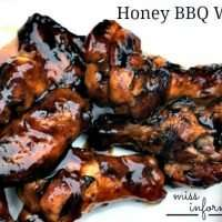Honey BBQ Grilled Chicken Wings - Miss Information