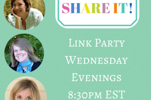 Link Party Wednesday Evenings 8-30pm EST