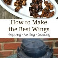 Chicken Wings On the Grill {4 Ways}