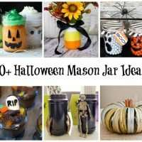 20+ mason jar ideas for Halloween, includes recipes and crafts!