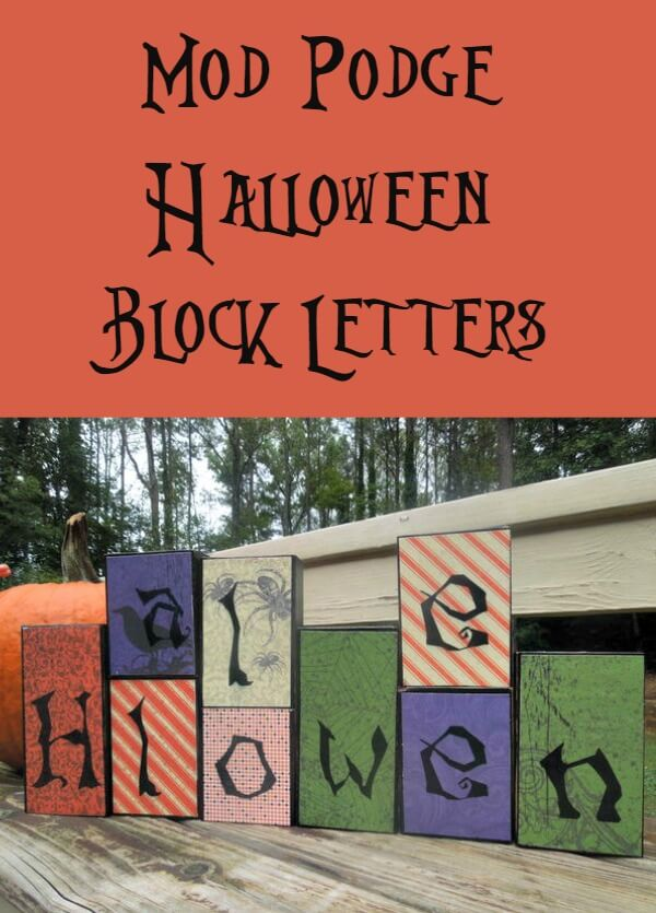 Halloween Block Sign - Miss Information