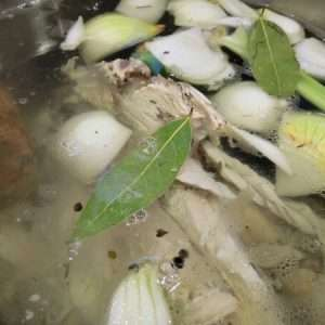 Don't ditch that bird! Make Turkey Stock and substitute it for chicken stock in any of your favorite recipes!