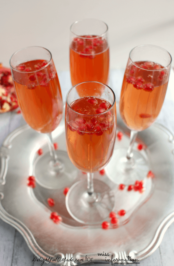 pomegranate prosecco cocktail recipe miss information