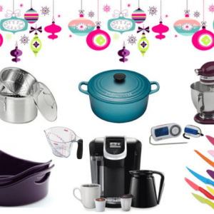 Holiday Gift Guide for the everyday cook to make getting meals on the table a little easier. Some women do love kitchen gadgets at Christmas!