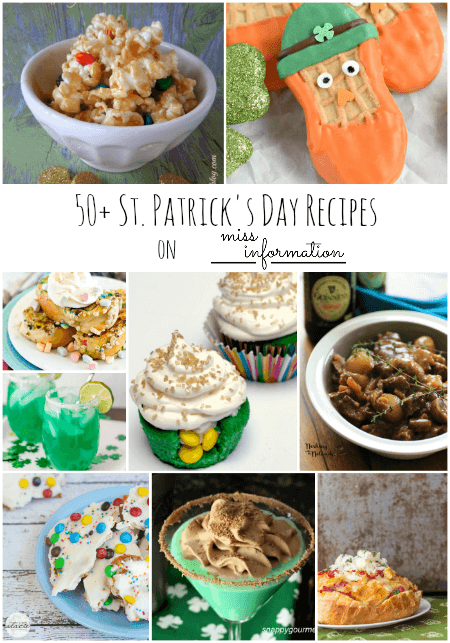 50 Awesome St. Patrick's Day Recipes!