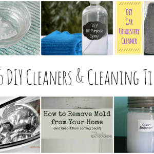 Harsh cleaning chemicals can wreak havoc on allergies, not to mention, they can harm the environment. These DIY cleaners and cleaning tips are a great solution {and totally cost effective}!