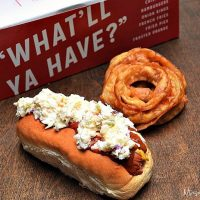 Homemade Hot Dog Chili Recipe to create a copycat of The Varsity's Chili Slaw Dog
