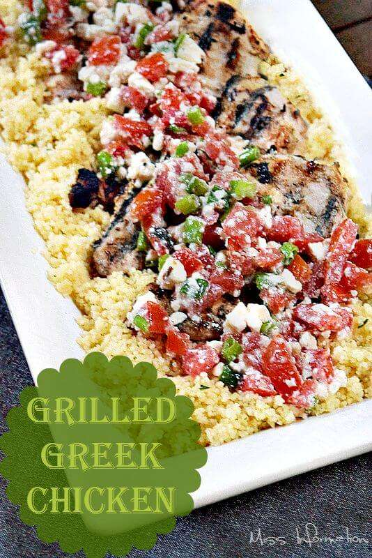 Greek Yogurt Chicken is moist and juicy and the best grilled chicken ...