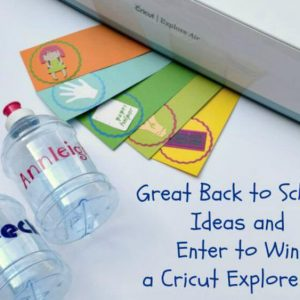 Back to School With The New Cricut Explore Air