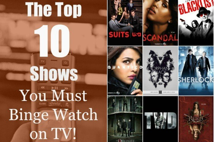 Top 10 Shows to Binge Watch on TV