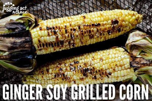 Ginger Soy Grilled Corn on the Cob