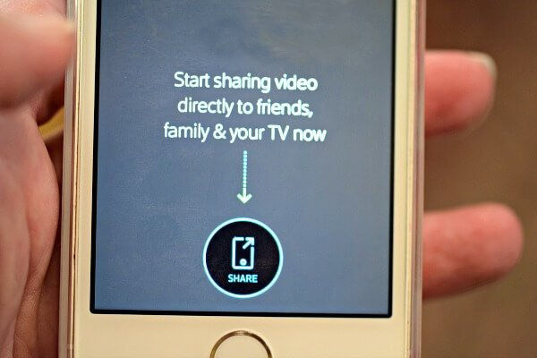 Use this Photo Sharing App to share live video and photos from your cell phone to someone else's TV , this is great for Grandparents - Step by Step Instructions!