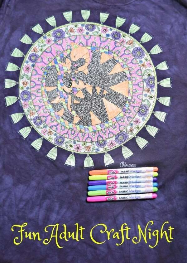 Craft night ideas for adults miss information for Crafts for older adults