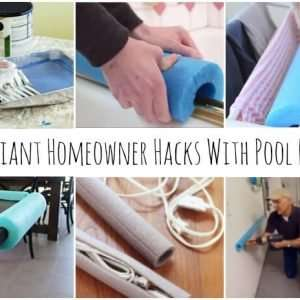 10 Brilliant Homeowner Hacks for Pool Noodles