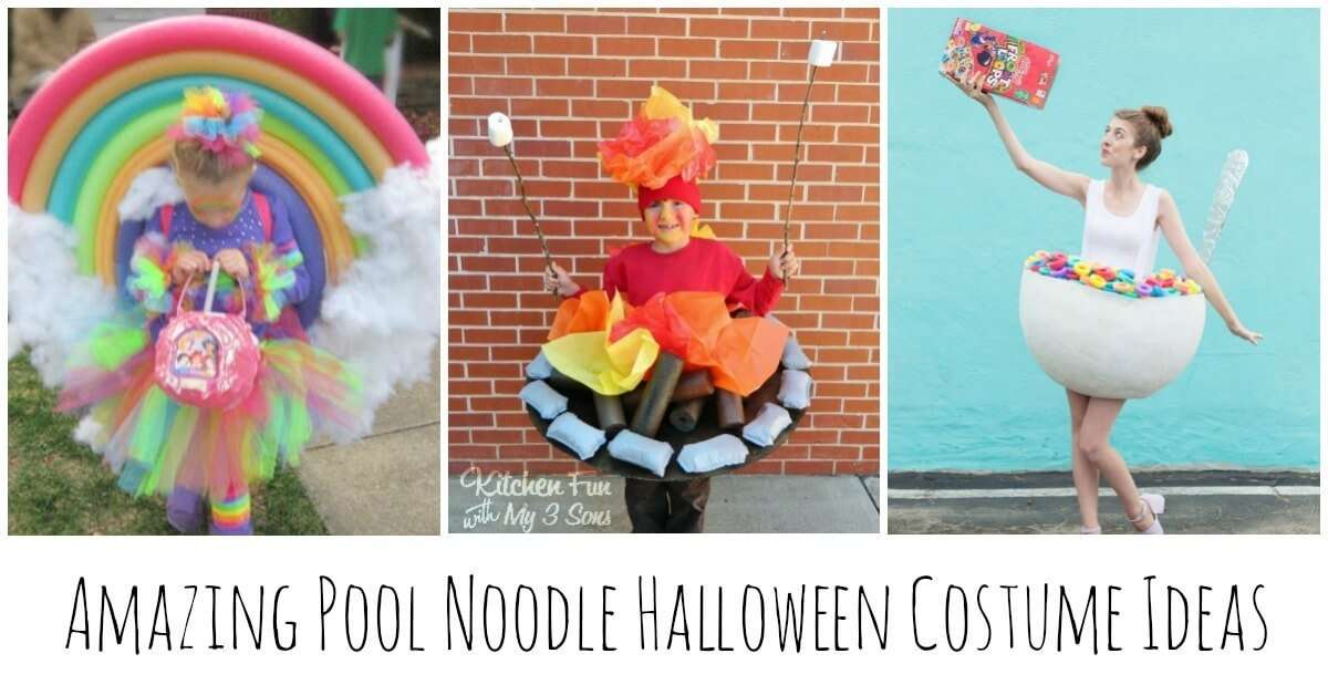 Amazing pool noodle halloween costumes miss information - Halloween swimming pool decorations ...