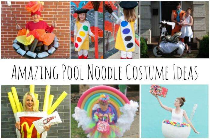 Amazing Pool Noodle Halloween Costumes