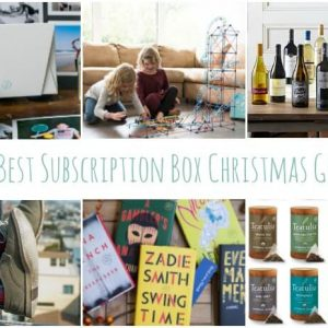 Subscription Boxes Christmas Gifts that Keep Giving