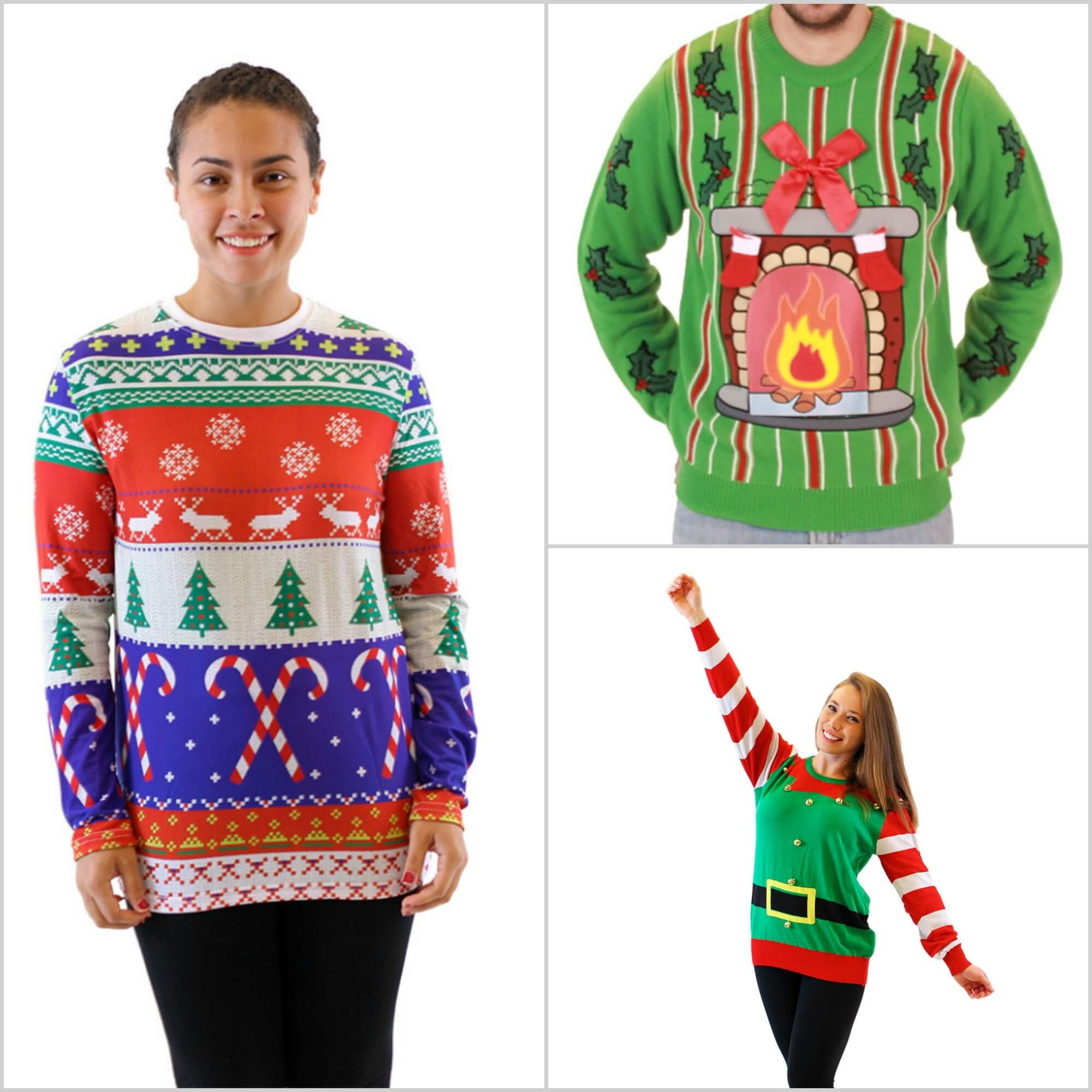 Where can i find christmas sweaters