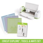 Right now get the Cricut Explore tools and mats for only