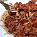 Quick and Meaty Homemade Spaghetti Sauce - Make a big batch and freeze it for later