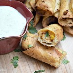 BBQ Chicken Taquitos are a great twist and perfect to carry to parties, the pool or a quick dinner with this recipe