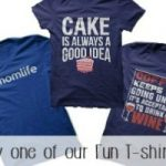 Look here for our selection of funny and whimsical t-shirt designs. Get your hands on a great deal! We sell t-shirts with food and crafting theme designs!