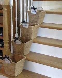 Basket Organization for Kids