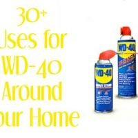 Over 30 Amazing Household Uses for WD-40 - you won't believe how awesome these ideas are! See them all at MissInformationBlog.com