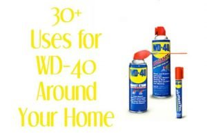 30+ Amazing Household Uses for WD-40