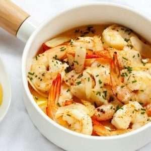 Buttered Italian Shrimp Recipe