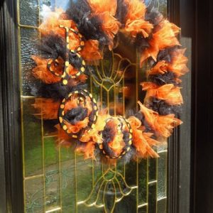 Halloween Wreath DIY - Miss Information