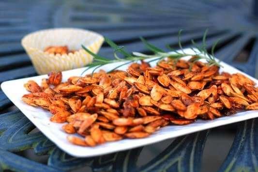 sweet-spicy-savory-pumpkin-seeds