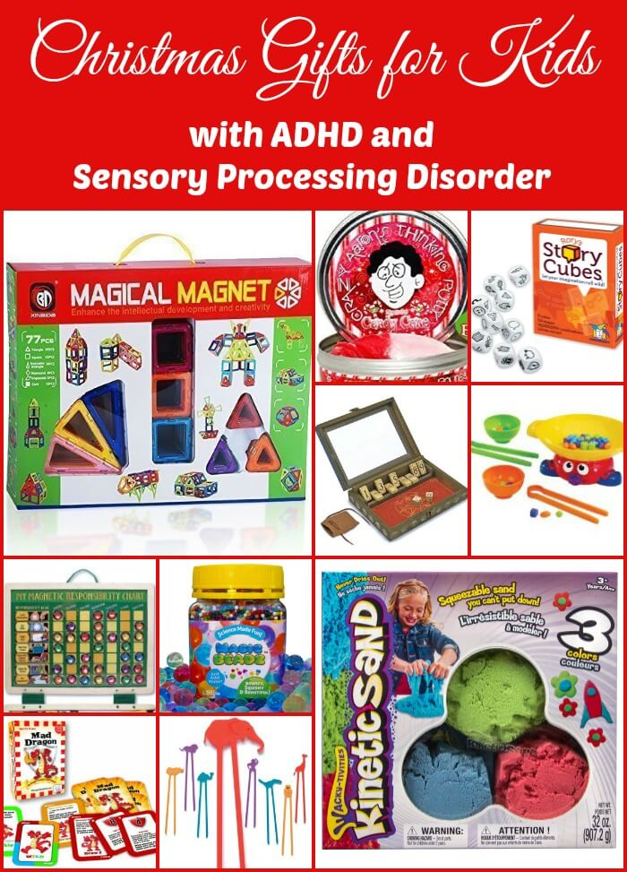 A List of Christmas Gifts for Children with ADHD and Sensory Processing Disorder
