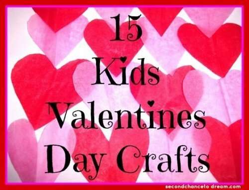 15 Kids Valentines Day Crafts