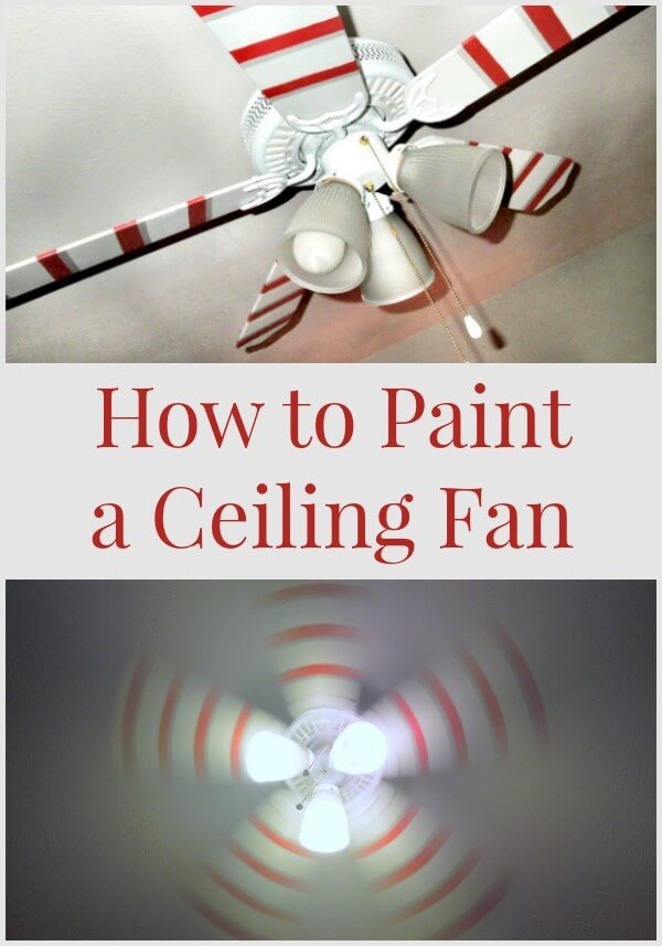 Peachy How To Paint A Ceiling Fan Miss Information Largest Home Design Picture Inspirations Pitcheantrous
