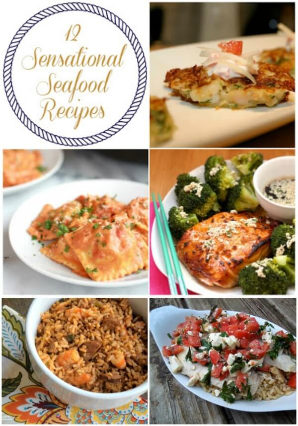 Easy Seafood Recipes that will help you get more fish in your diet!
