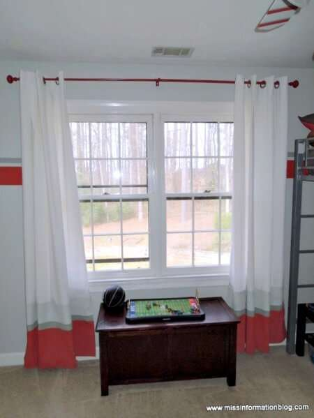 Using the easy tips and tutorial in this post, you can learn how to paint a metal curtain rod and other room accessories. Save money and do it yourself!