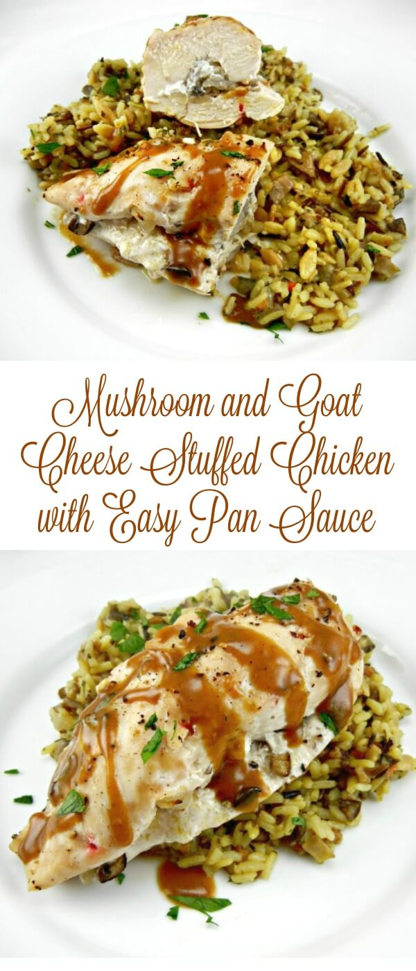 This easy stuffed chicken recipe is a show stopper for family or save it special dinner you need to make in a hurry!